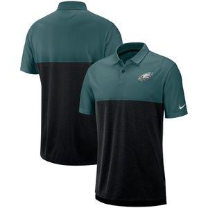 NWOT Philadelphia Eagles Nike Sideline Polo
